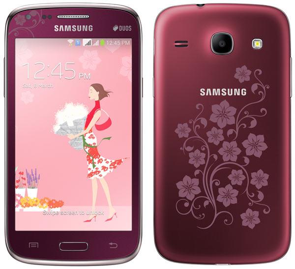 Samsung lanza La Fleur Edition de los Galaxy Fame Lite, Trend y Core