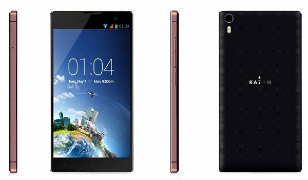 Kazam Tornado2 5.5, smartphone con procesador de ocho núcleos