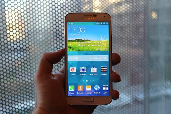 Se filtra una fotografía del Samsung Galaxy S5