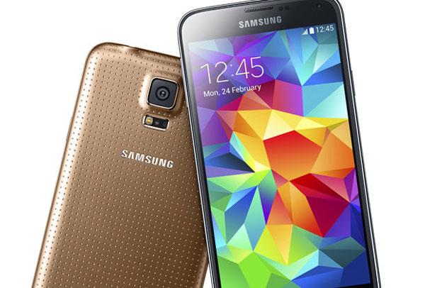 El Samsung Galaxy S5 Gold estará disponible en exclusiva con Vodafone