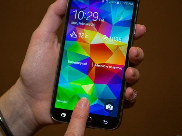 Cómo añadir nuestra huella para desbloquear el Samsung Galaxy S5