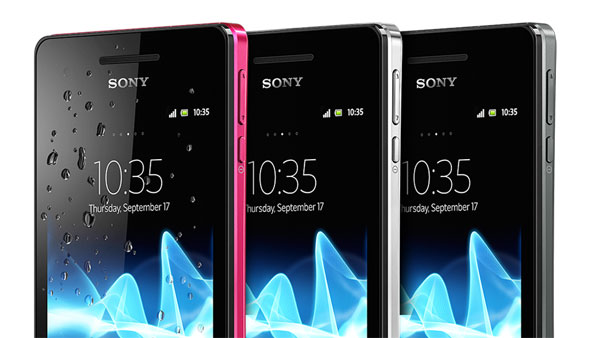 El Sony Xperia V recibe una pequeña actualización