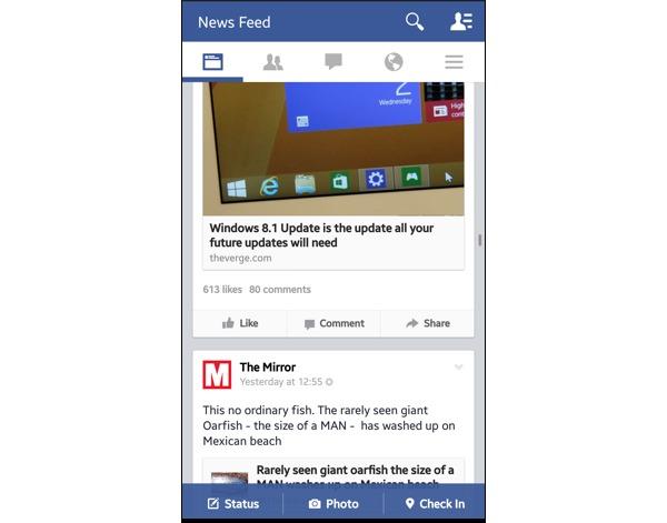 Desactivar reproducción automática de vídeos en Facebook desde el móvil
