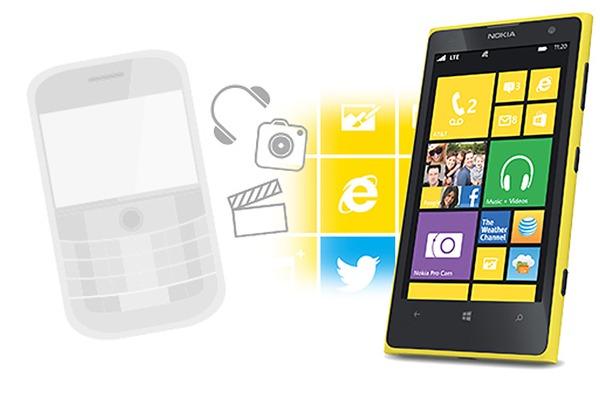 Pasar de un móvil BlackBerry a un Nokia Lumia
