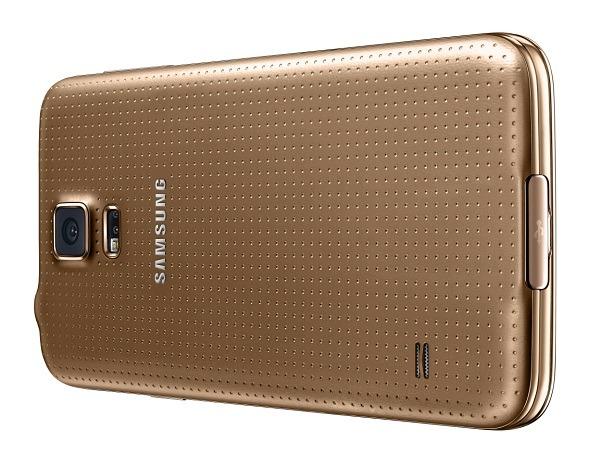 Tarifas del Samsung Galaxy S5 Gold en España con Vodafone