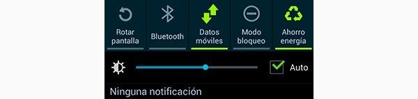 Símbolos de datos en Android