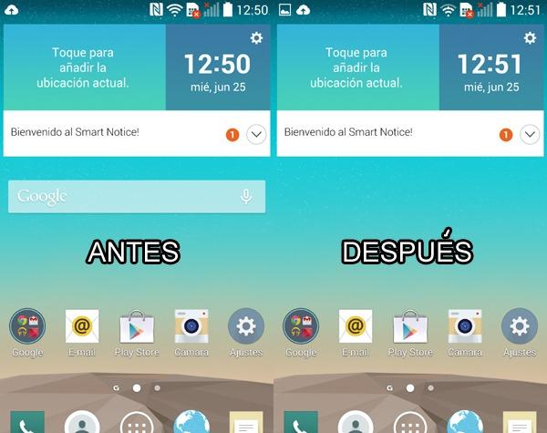 Cómo desactivar la barra de búsquedas de Google en Android
