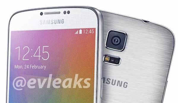 Aparece una imagen detallada del Samsung Galaxy F