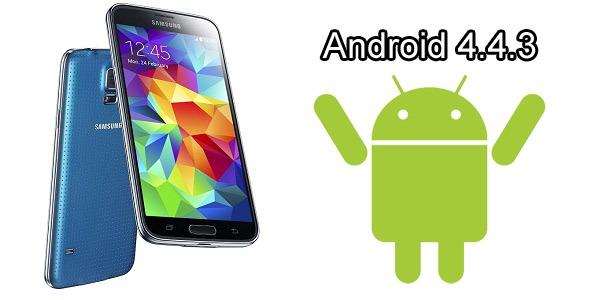 El Samsung Galaxy S5 y S4 podrían recibir la actualización de Android 4.4.3 durante este mes