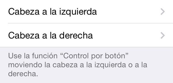 Cómo controlar un iPhone con movimientos de cabeza