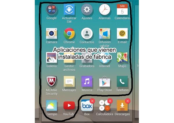 Cómo ocultar las aplicaciones de fábrica en cualquier móvil Android