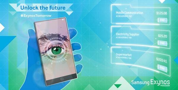 El Samsung Galaxy Note 4 podría venir con un escáner de retina