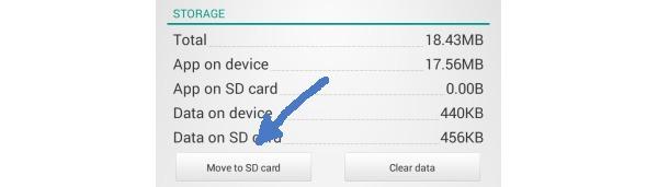 La última actualización de Android 4.4 de Sony permite transferir aplicaciones a la microSD