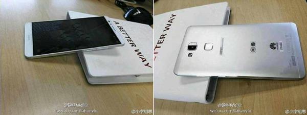 Se filtran fotografías más detalladas del Huawei Ascend Mate 7