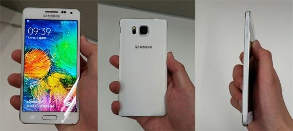 El Samsung Galaxy Alpha aparece en un evento oficial
