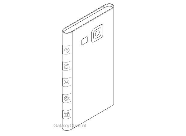 Samsung podría estar trabajando en un nuevo móvil sin bordes en la pantalla