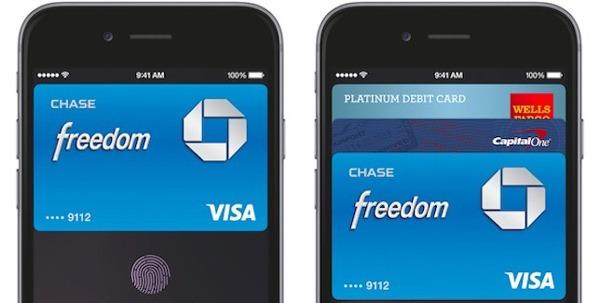 Conectividad NFC del iPhone 6
