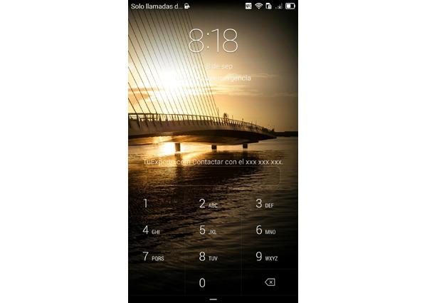 Cómo mostrar información del propietario en la pantalla de bloqueo de un móvil con Android