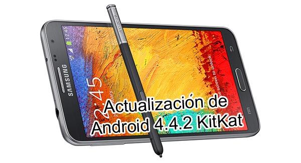 El Samsung Galaxy Note 3 Neo, en su versión 4G LTE, se actualiza a Android 4.4.2 KitKat