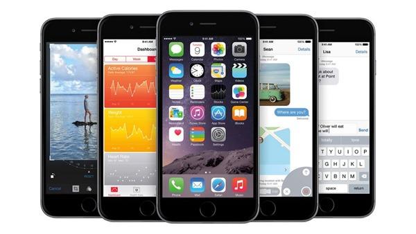 Tres nuevas actualizaciones de iOS 8