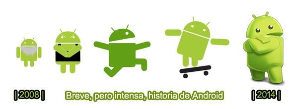 Android, el sistema operativo cuya historia se resume en seis años