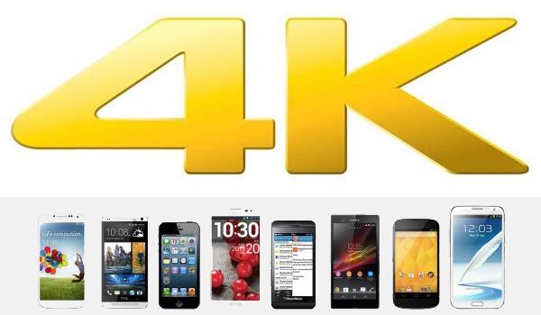 Estos son los móviles capaces de grabar vídeos con resolución 4K