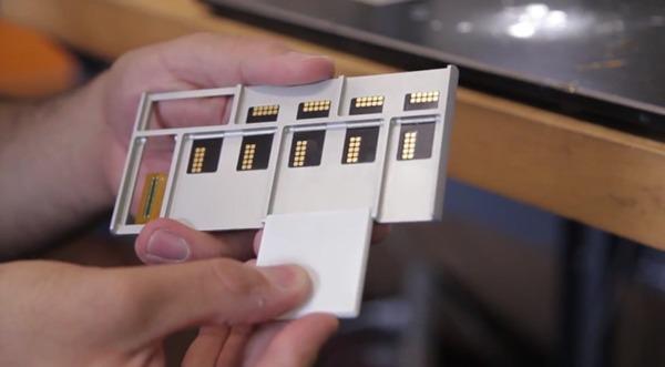Project Ara, el móvil por piezas de Google, se muestra en un vídeo