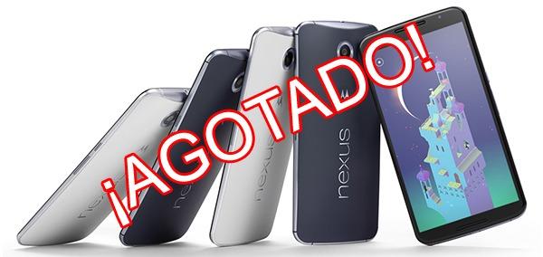 Las reservas del Nexus 6 podrían retrasarse hasta el 18 de noviembre