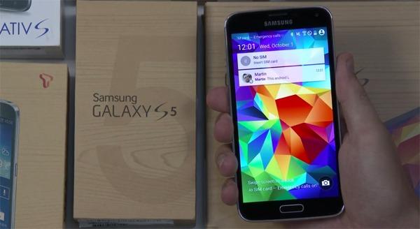 Así funcionará Android L en el Samsung Galaxy S5