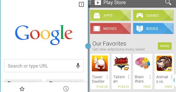 Google podría estar trabajando en un sistema de multiventana para Android