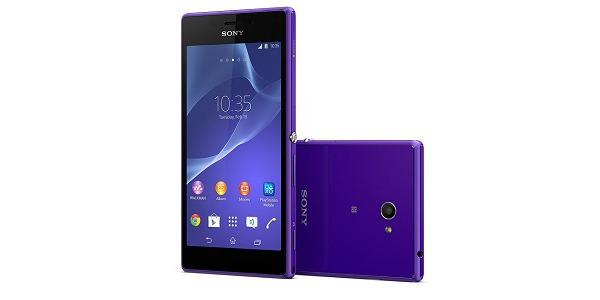 El Sony Xperia M2 recibe una pequeña actualización