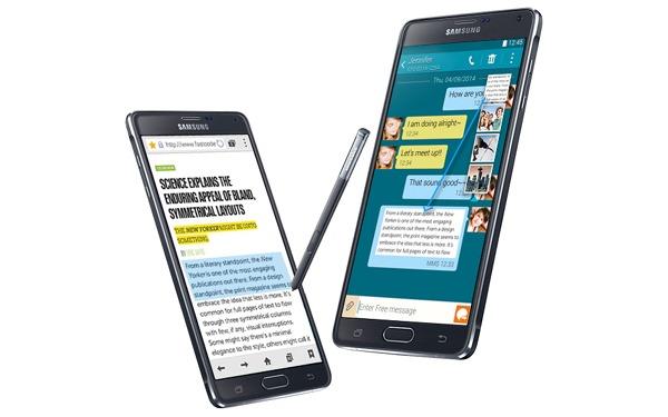 El Samsung Galaxy Note 4 comienza a recibir una nueva actualización