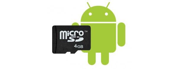 Cómo utilizar la tarjeta microSD en Android