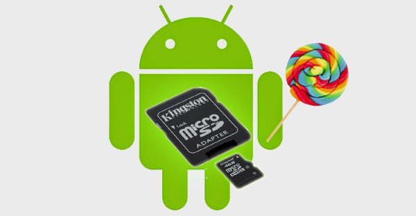 Mayor libertad en las tarjetas microSD en Android 5.0 Lollipo