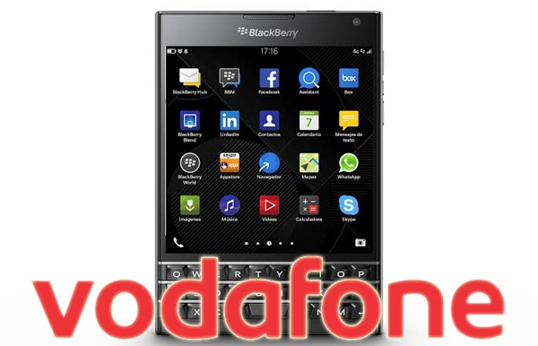 BlackBerry Passport con Vodafone