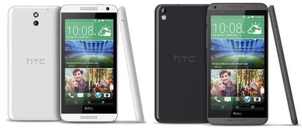 HTC Desire 610 y HTC Desire 816 con Orange