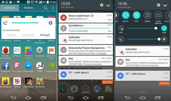 Así luciría la interfaz de LG con Android 5.0 Lollipop