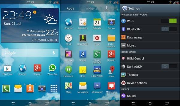 TouchWiz, la interfaz de Samsung, podría permitir instalar temas
