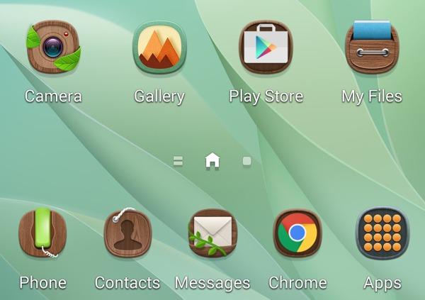 Se filtran algunas capturas de la nueva interfaz TouchWiz de Samsung