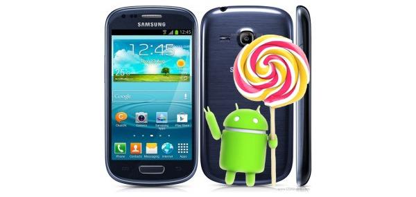 El Samsung Galaxy S3 Mini recibirá una versión extra-oficial de Android 5.0 Lollipop