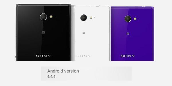 El Sony Xperia M2 comienza a recibir la actualización de Android 4.4.4 KitKat