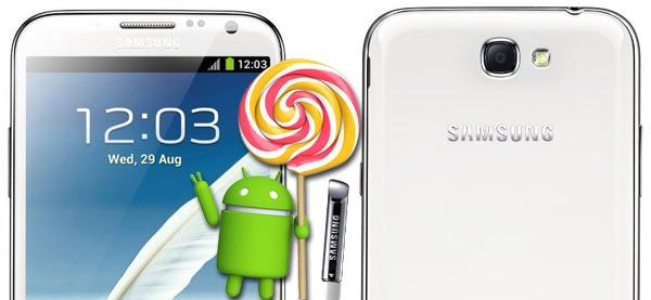 Samsung confirma la actualización de Android 5.0 Lollipop para el Note 2 y el Galaxy S4