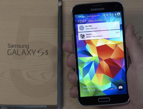El Samsung Galaxy S5 comienza a recibir la actualización de Android 5.0 Lollipop en Europa