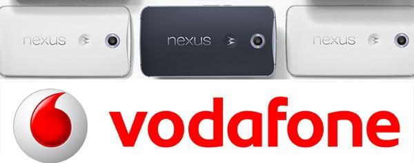 Motorola Nexus 6, precios y tarifas con Vodafone