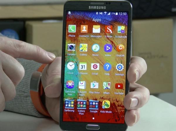 El Samsung Galaxy Note 3 comienza a actualizarse a Android 5.0 Lollipop en algunos países