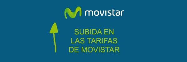 Movistar sube sus tarifas a partir del 4 de enero