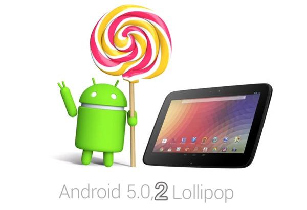 Android 5.0.2 Lollipop ya disponible en las Nexus 7 y Nexus 10