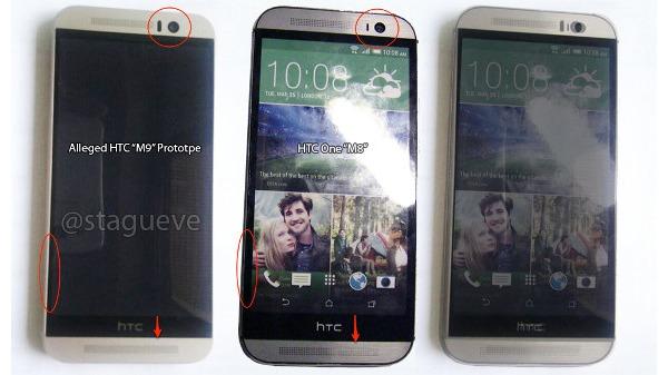 Más imágenes filtradas del HTC One M9, esta vez junto al HTC One M8