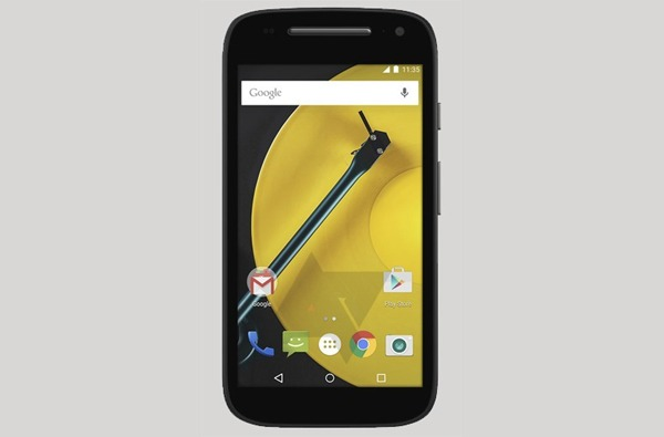 La segunda generación del Motorola Moto E se filtra en una imagen