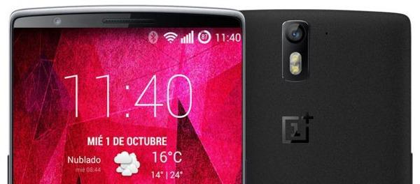 El nuevo OnePlus Two podría mantener las 5.5 pulgadas de tamaño en la pantalla